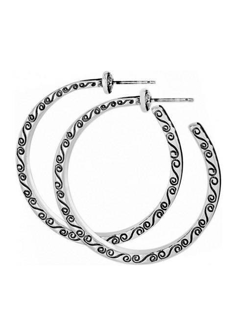 Brighton® Secret Of Love Hoop Post Earrings