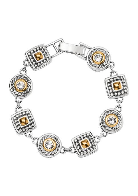 Brighton® Heiress Crystal Link Bracelet