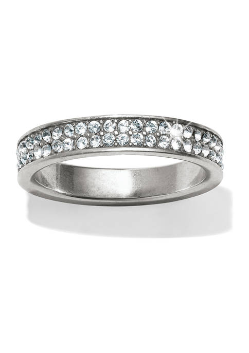Meridian Swing Pavé Band Ring