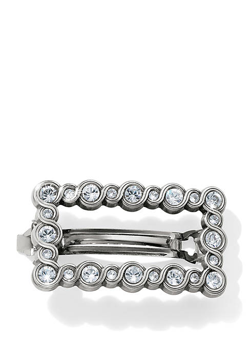 Brighton® Infinity Sparkle Small Barrette