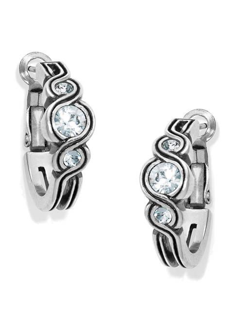 Brighton® Infinity Sparkle Hoop Earrings