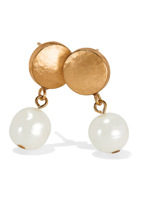 Brighton® Mediterranean Pearl Post Drop Earrings
