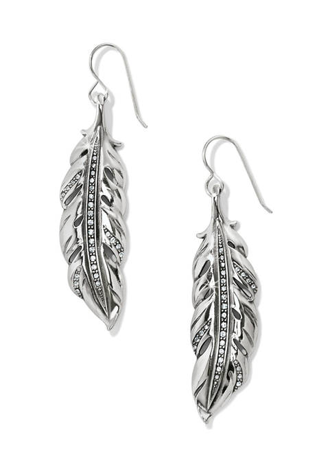 Brighton® Contempo Ice Feather French Wire Earrings