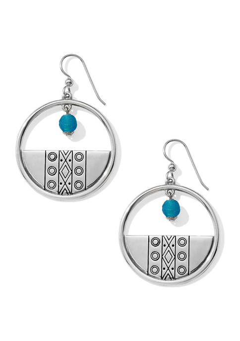 Brighton® Africa Stories Etched Beaded French Wire Earrings