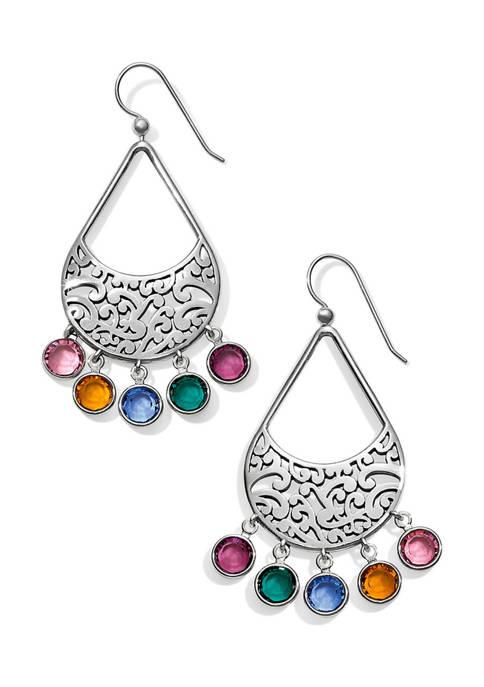 Elora Gems Drops French Wire Earrings