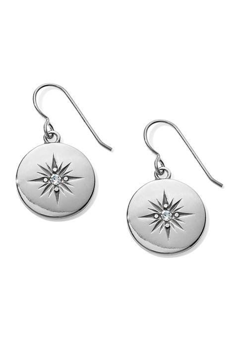 Brighton® Coastline Compass French Wire Earrings