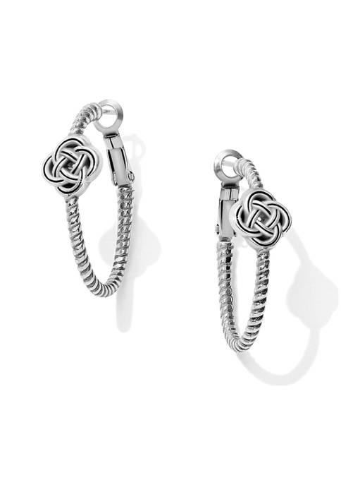 Brighton® Interlok Knot Rope Hoop Earrings