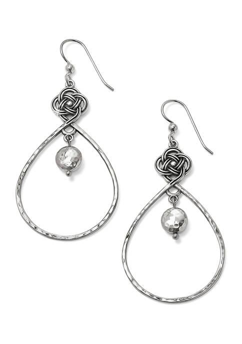 Brighton® Interlok Knot Loop French Wire Earrings
