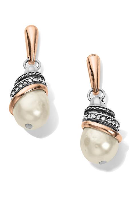 Brighton® Neptunes Rings Pearl Teardrop Earrings