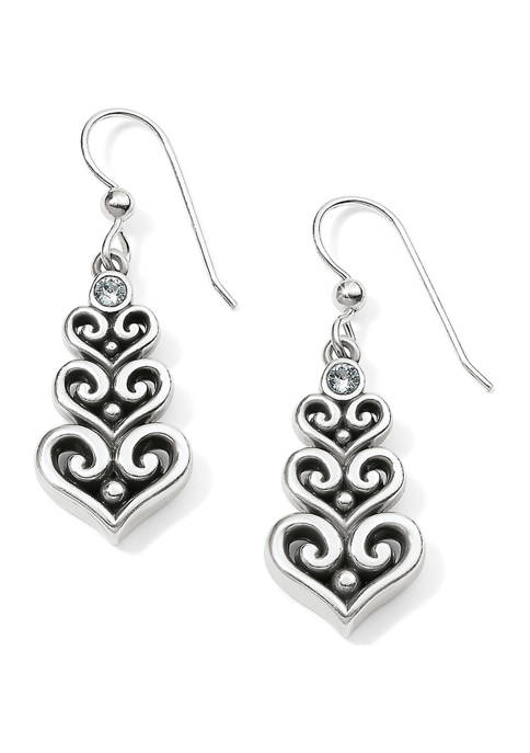 Brighton® Alcazar Heart Trio French Wire Earrings
