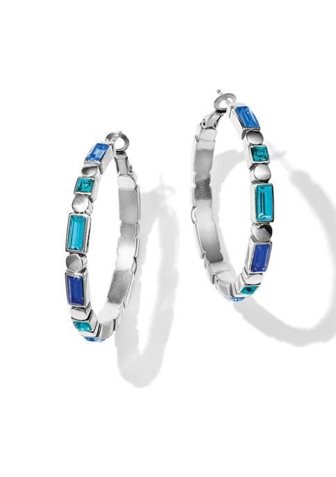 Brighton® Blue Showers Lever Back Hoop Earrings