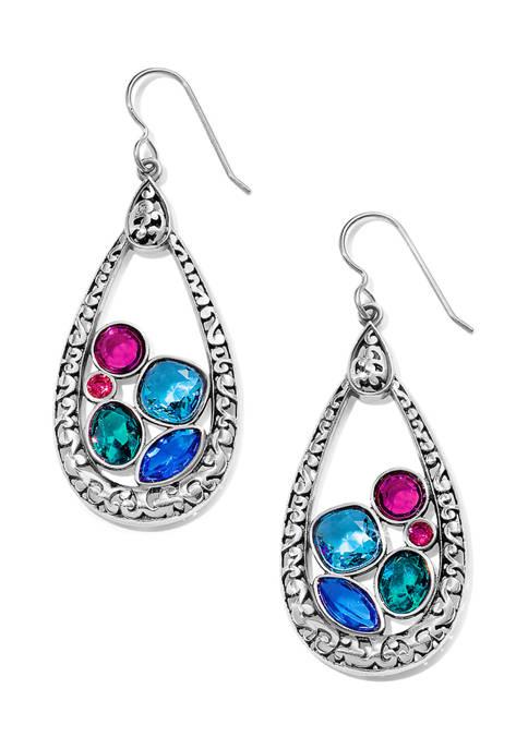 Brighton® Elora Gems Vitrail Hoop French Wire Earrings