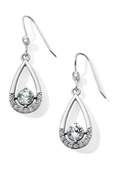 Majesty French Wire Drop Earrings