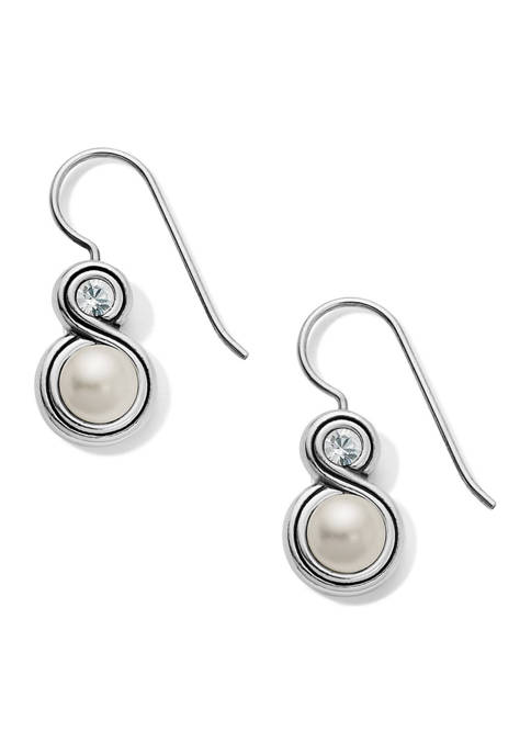 Brighton® Infinity Pearl French Wire Earrings