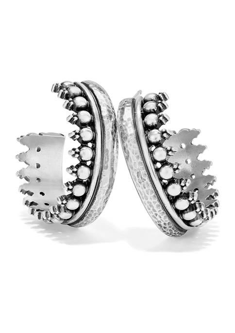 Telluride Sunburst Hoop Earrings