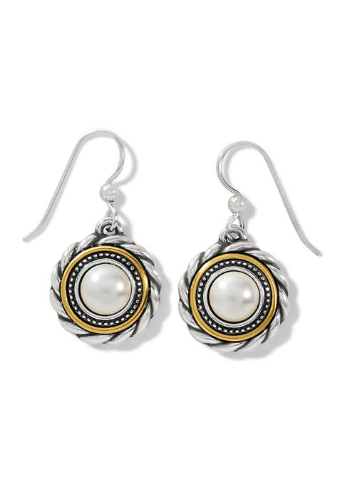 Brighton® Meridian Golden Pearl French Wire Earrings