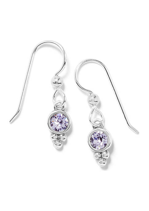 Color Drops French Wire Earrings