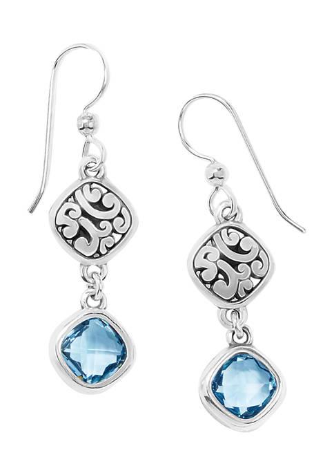 Brighton® Elora Gems Sky French Wire Earrings