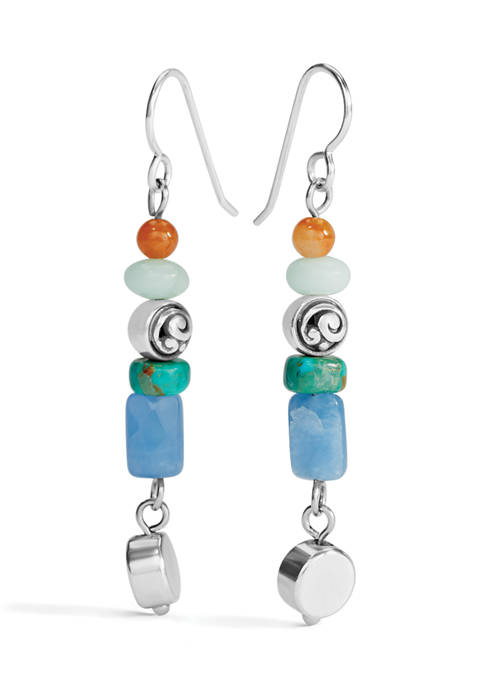 Contempo Chroma Drop French Wire Earrings