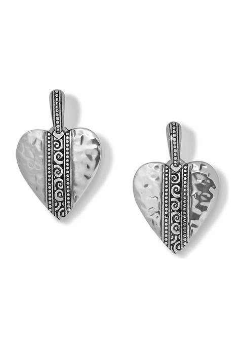 Mingle Adore Post Drop Earrings