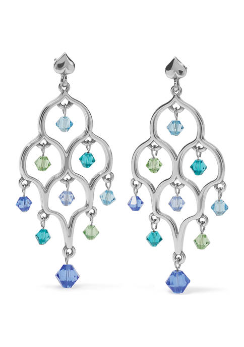 Prism Lights Glisten Post Drop Earrings