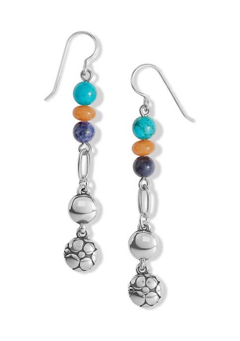 Pebble Multi French Wire Earrings