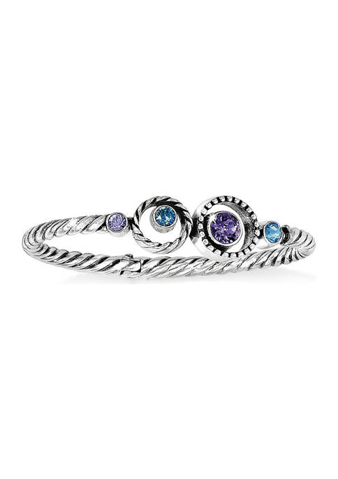 Brighton® Halo Hinged Bangle