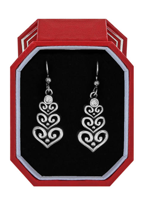 Brighton® Alcazar Heart Trio French Wire Earrings Gift