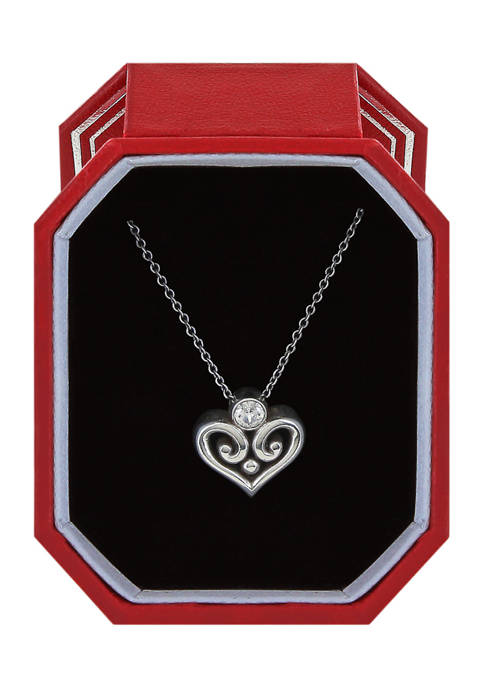 Alcazar Heart Necklace