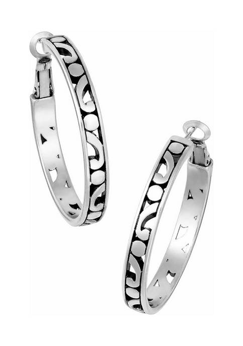 Brighton® Contempo Medium Hoop Earrings