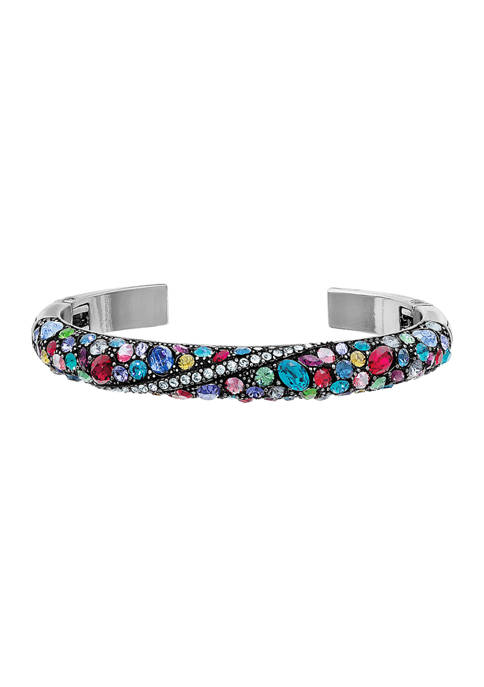 Trust Your Journey Double Hinged Bangle