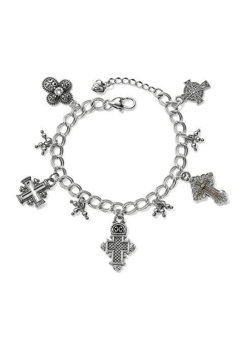 Brighton® Crosses Of The World Bracelet
