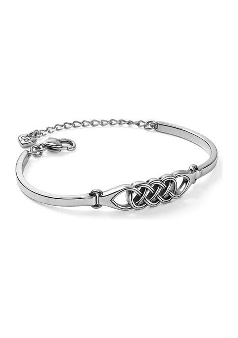 Brighton® Interlok Braid Bar Bracelet
