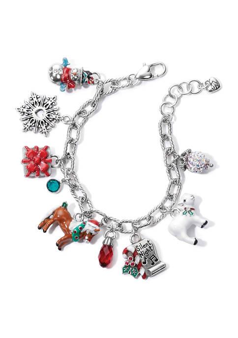 Christmas Carol Charm Bracelet