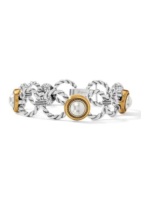 Meridian Golden Pearl Bracelet