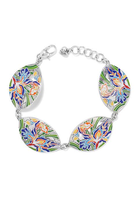 Iris Bloom Bracelet