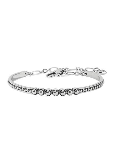 Brighton® Pretty Tough Bar Bracelet in Sterling Silver