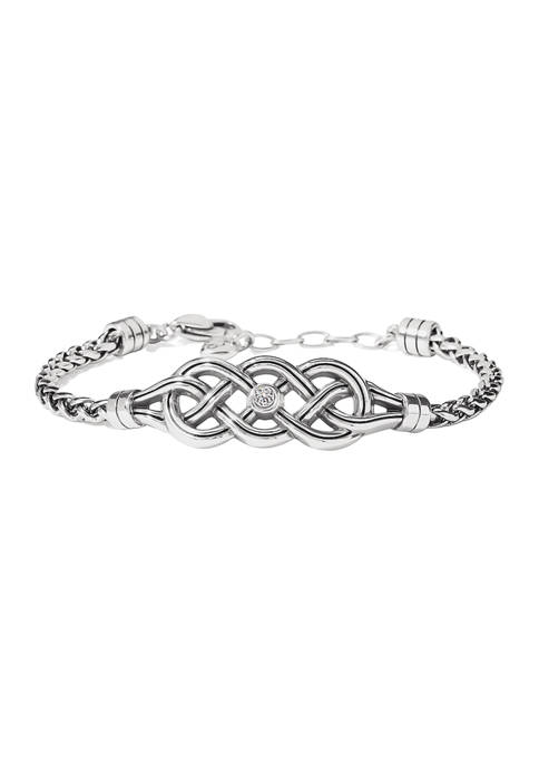 Brighton® Interlok Cascade Bracelet in Sterling Silver