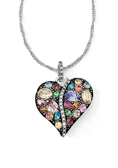 Brighton® Trust Your Journey Heart Necklace