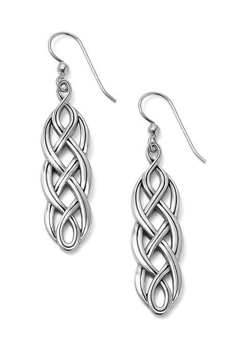 Brighton® Interlok Braid French Wire Earrings