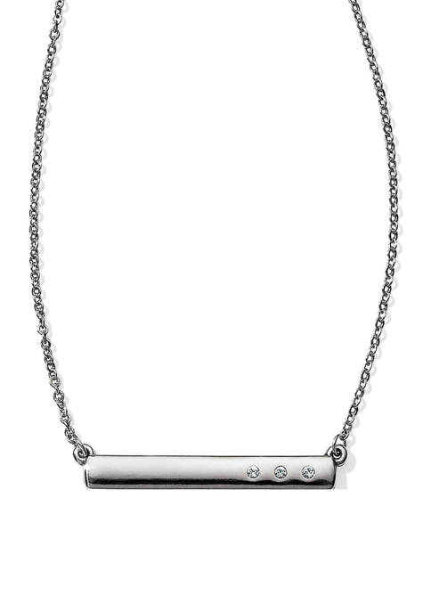 Brighton® London Groove Mini Bar Reversible Necklace