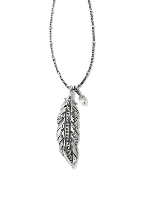 Brighton® Contempo Ice Feather Convertible Reversible Necklace