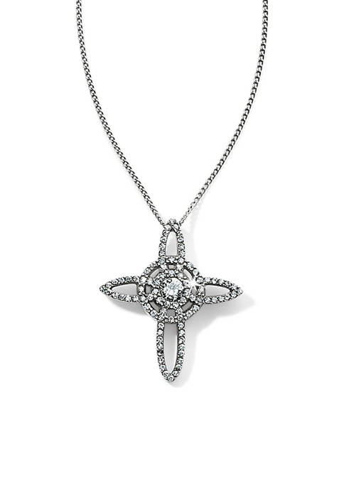 Brighton® Illumina Petite Cross Necklace
