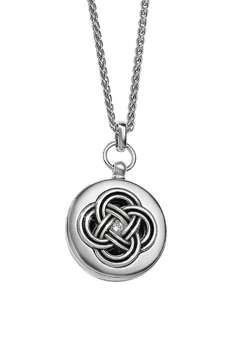 Brighton® Interlok Small Round Locket Necklace