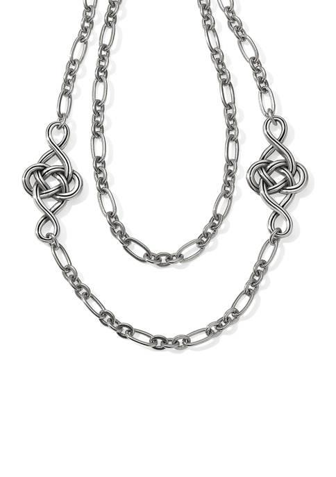 Interlok Knot Layer Necklace
