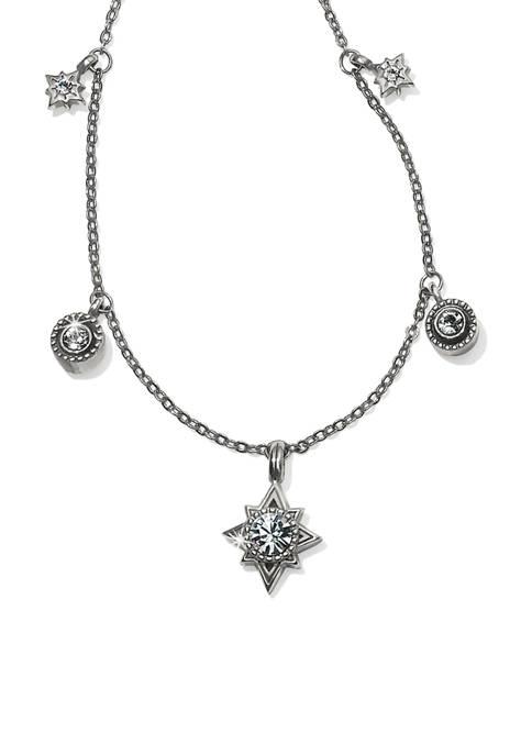 Halo Stargazer Short Necklace
