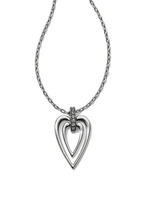 Meridian Swing Petite Heart Necklace