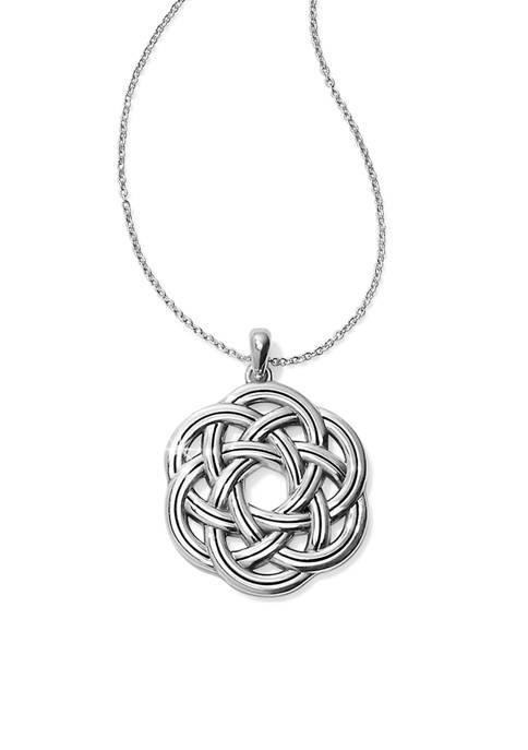 Brighton® Interlock Eternity Circle Necklace