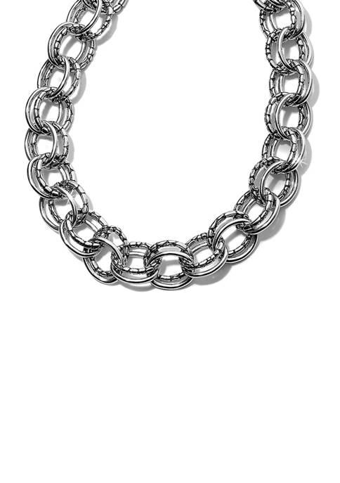 Pebble Link Necklace