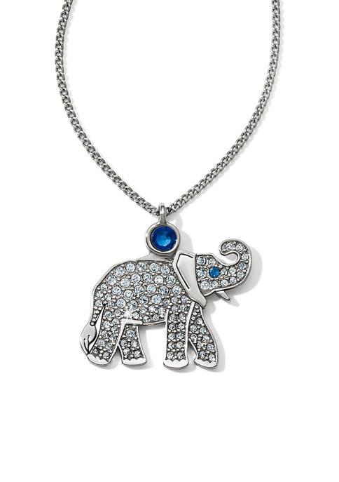 Africa Stories Safari Elephant Necklace